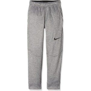 Nike Boys Dri-Fit Therma Training Pants Gray XS